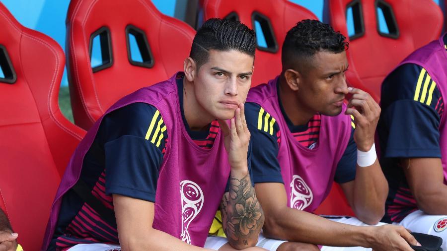 Meia começou partida contra o Japão no banco de reservas - Ricardo Moraes/Reuters