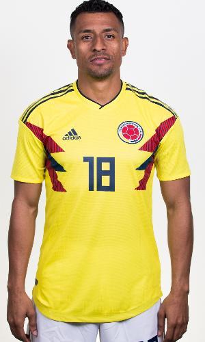 Farid Díaz - zagueiro da seleção da Colômbia