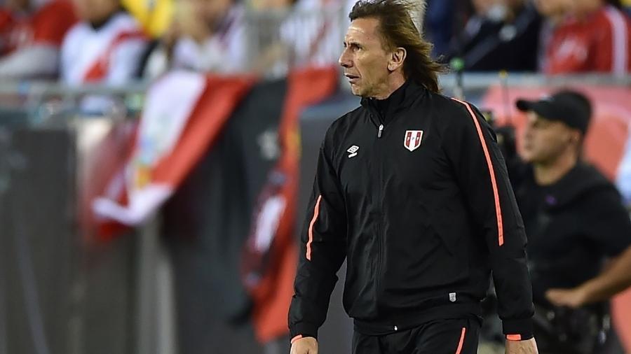 Gareca, ex-treinador do Palmeiras, comandará o Peru na Copa - Hector Retamal/AFP Photo