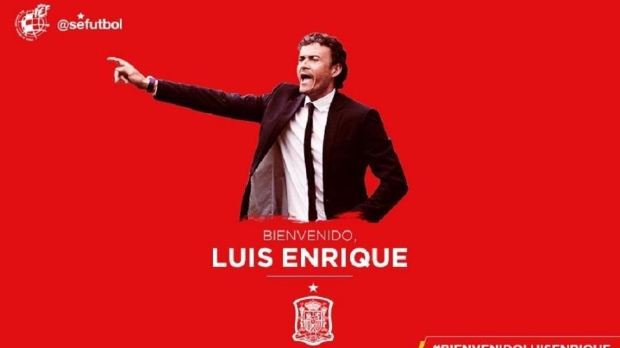 2fffc0466d Espanha anuncia Luis Enrique como técnico Imagem  Divulgação