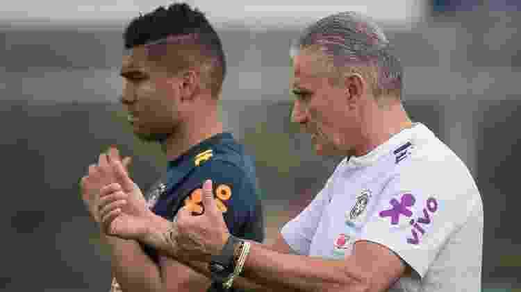 Casemiro tem abertura com a comissão técnica para dar pitacos táticos - Pedro Martins/MowaPress - Pedro Martins/MowaPress