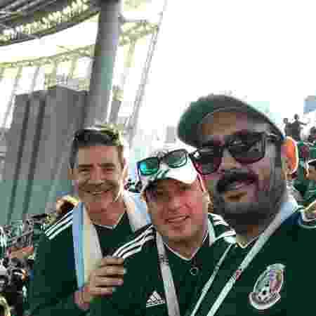 Gilberto Martinez e colegas - Arquivo pessoal - Arquivo pessoal