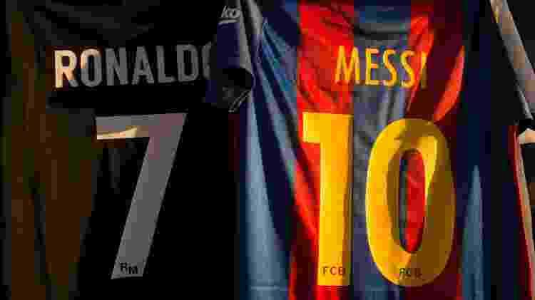 Messi x Cristiano Ronaldo - Denis Doyle/Getty Images - Denis Doyle/Getty Images