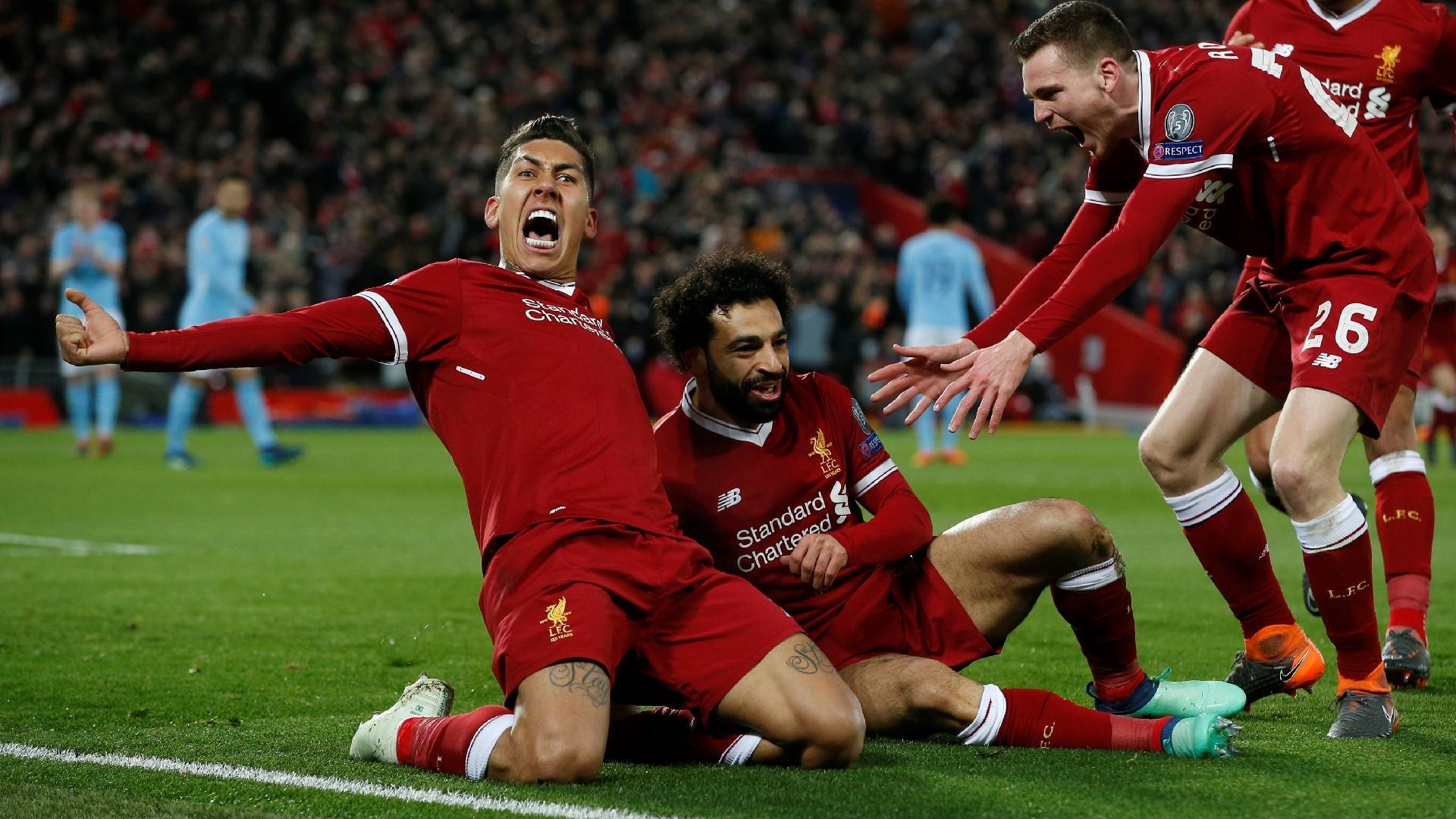 Roberto Firmino Salah Liverpool