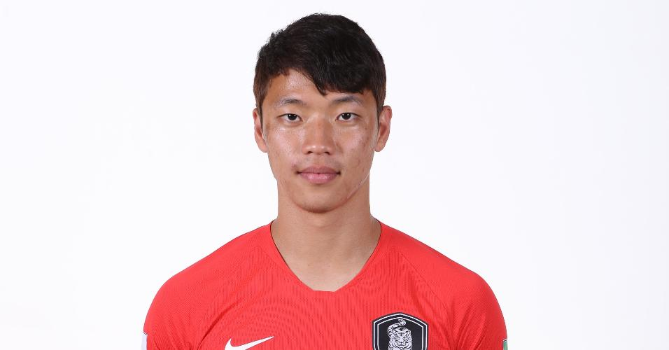Hwang Heechan - atacante da seleção sul-coreana