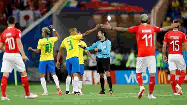 árbitro brasil suíça - Darren Staples/Reuters - Darren Staples/Reuters