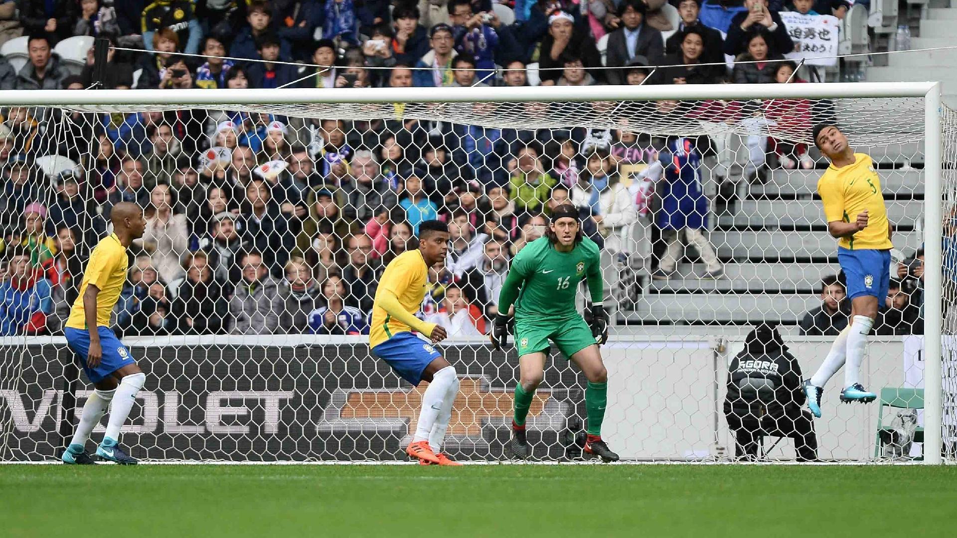 Cássio volta a ter uma chance na seleção brasileira
