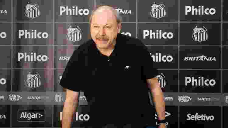 O presidente do Santos, José Carlos Peres, será o chefe da delegação brasileira no amistoso contra a Croácia - Ivan Storti/Santos FC - Ivan Storti/Santos FC