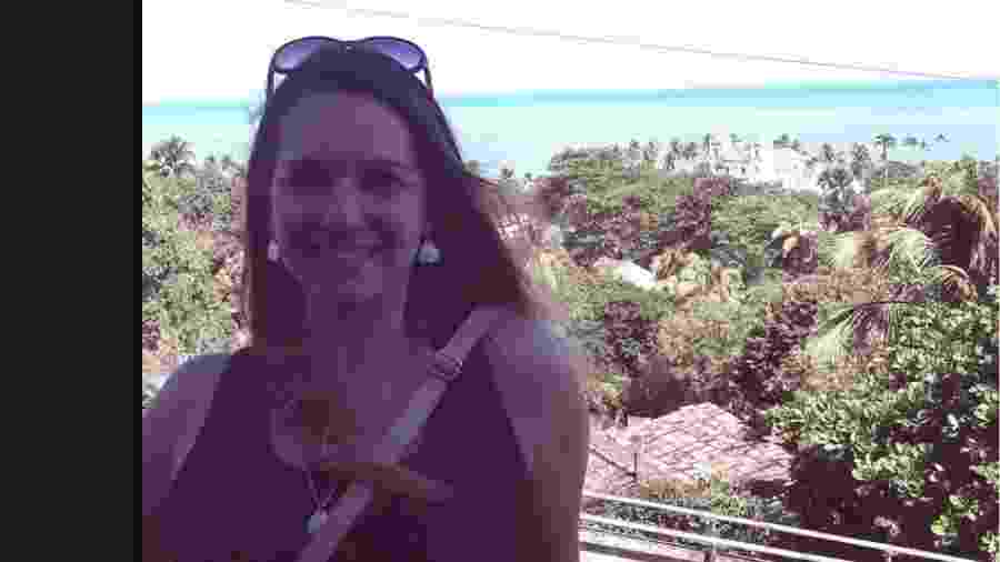 Tamara Maiochi morreu atingida por uma taça de cristal após vitória do Brasil - Reprodução