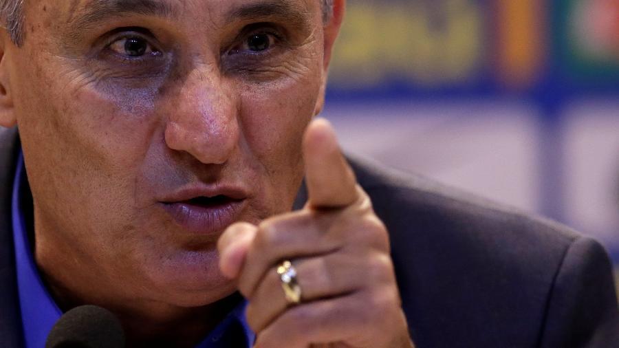 Tite comandará a seleção contra a Colômbia em amistoso em Miami, nos Estados Unidos - REUTERS/Ricardo Moraes
