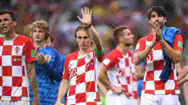 Modric Croácia França - Laurence Griffiths/Getty Images - Laurence Griffiths/Getty Images