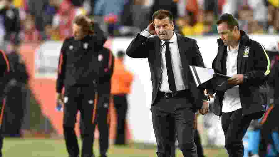 Copa América nos Estados Unidos em 2016 derrubou Dunga do comando da seleção - Hector Retamal/AFP Photo
