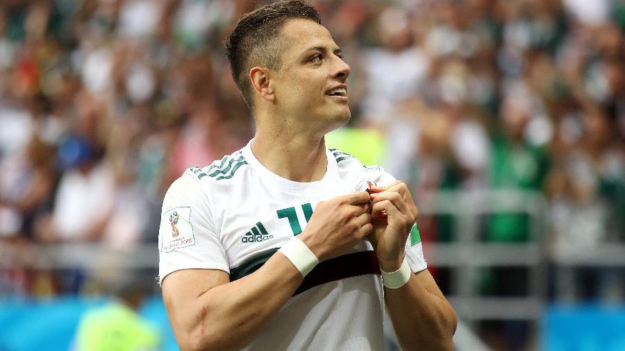 Chicharito Hernández México Coreia do Sul Copa do Mundo - Clive Mason/Getty Images