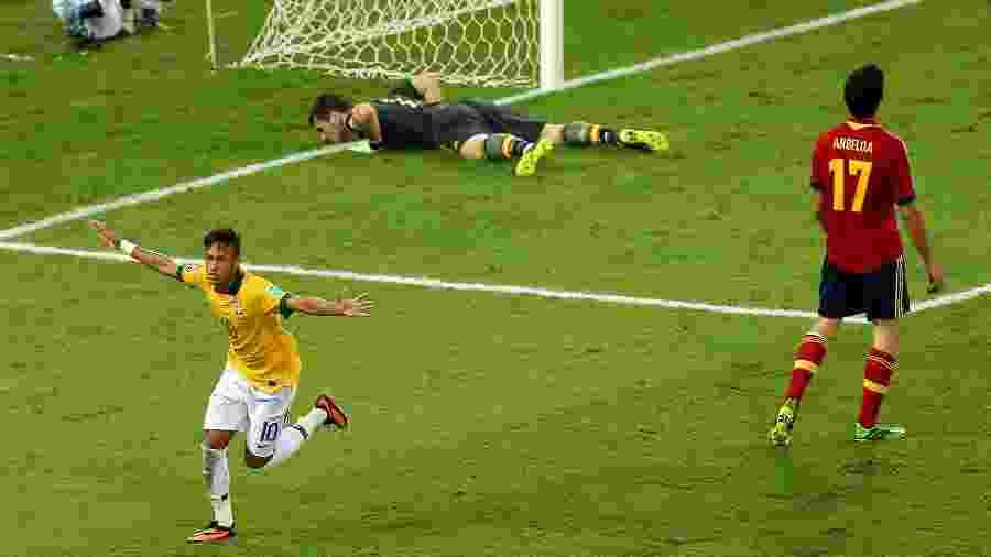 Brasil não atua no Maracanã desde a final da Copa das Confederações de 2013 - Ronald Martinez/Getty Images