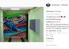 Goleiro russo compartilha pintura de defesa heroica na Copa do Mundo - Reprodução/Instagram