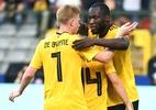 "De Bruyne comemora ter Lukaku após surto na Inter: ""É crucial para nós"" - Emmanuel Dunand/AFP"