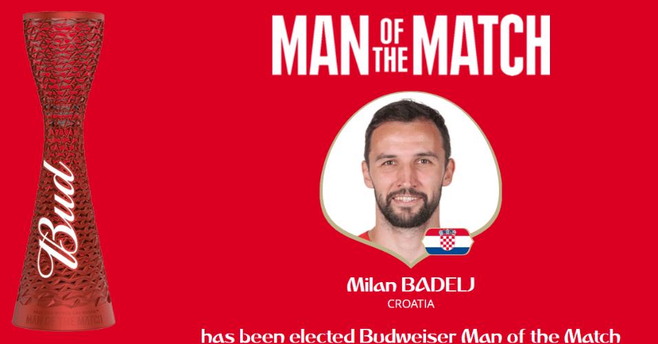 Milan Badelj é o melhor do jogo na vitória da Croácia sobre a Islândia