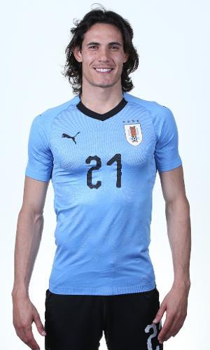 Edinson Cavani - seleção uruguaia