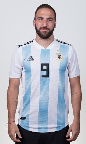 Gonzalo Higuaín, jogador da Argentina na Copa 2018