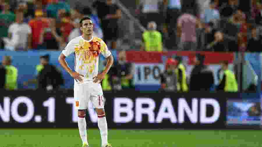 Soriano disputou dois jogos pela Espanha na última Eurocopa - David Ramos/Getty Images
