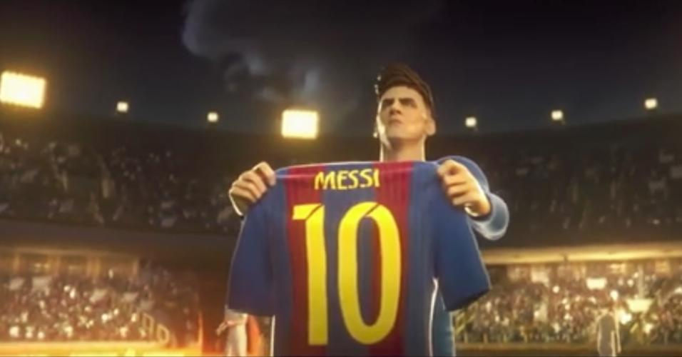 Lionel Messi animação