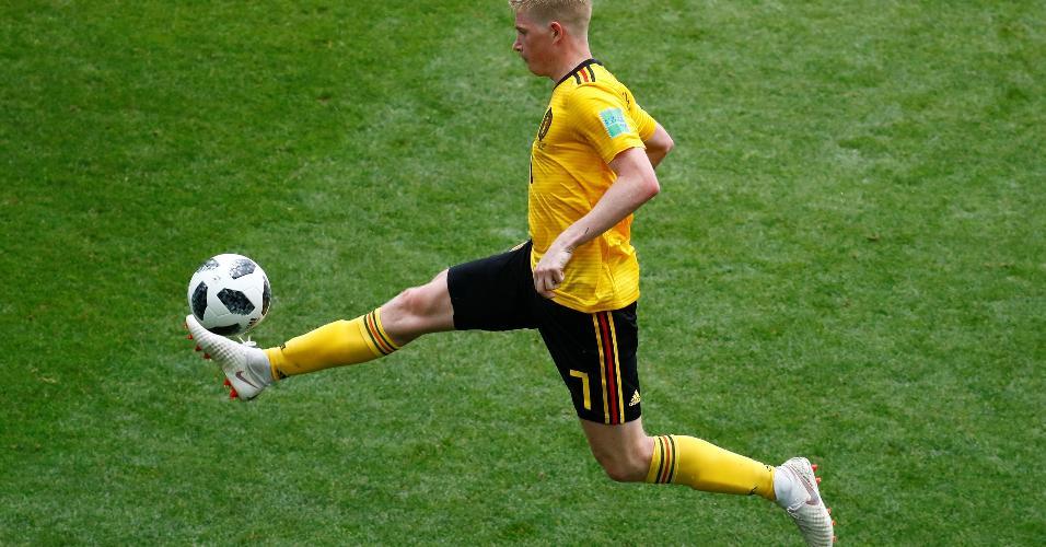 Kevin De Bruyne não marcou, mas teve grande atuação em Bélgica x Tunísia