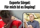 """Médico da Rússia rebate acusação de jornal alemão sobre doping: """"É amônia"""" - Reprodução/Bild"""