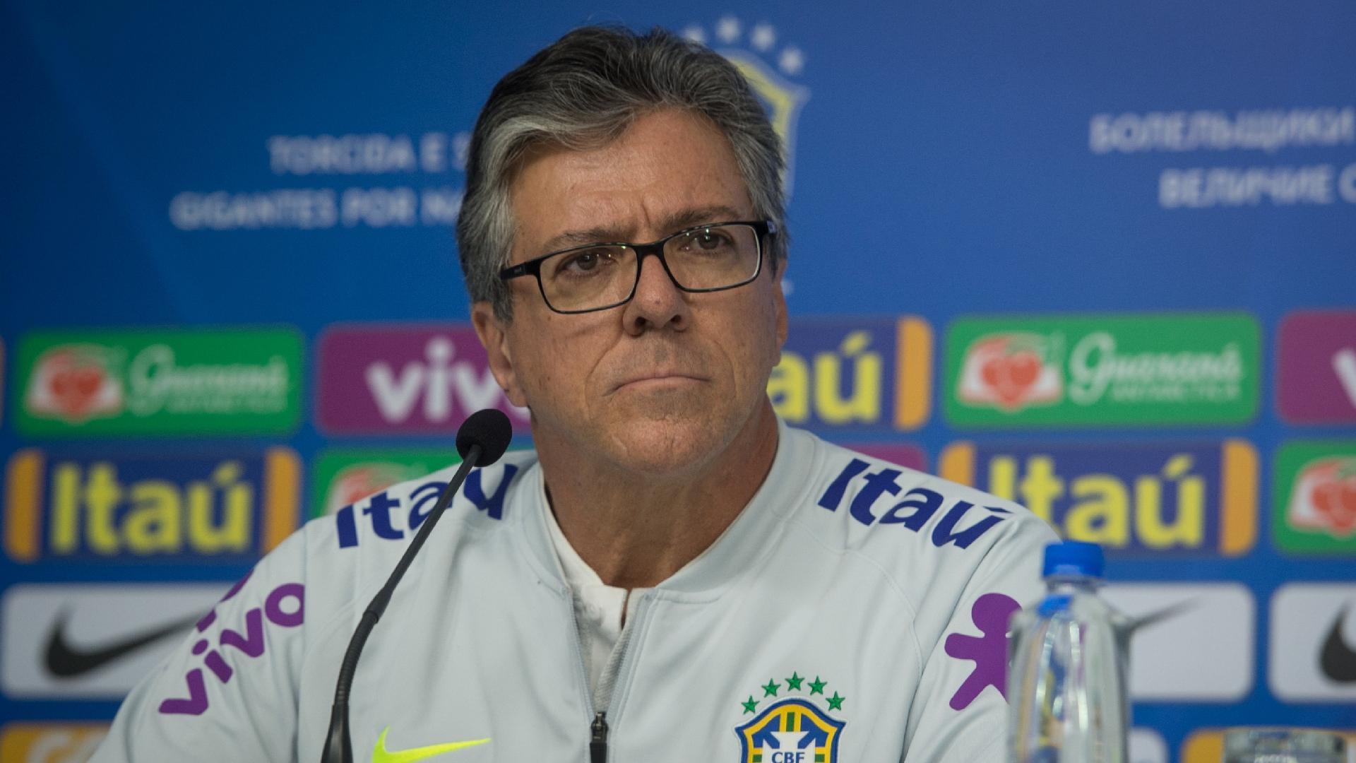 Luiz Crescente, fisiologista da seleção brasileira