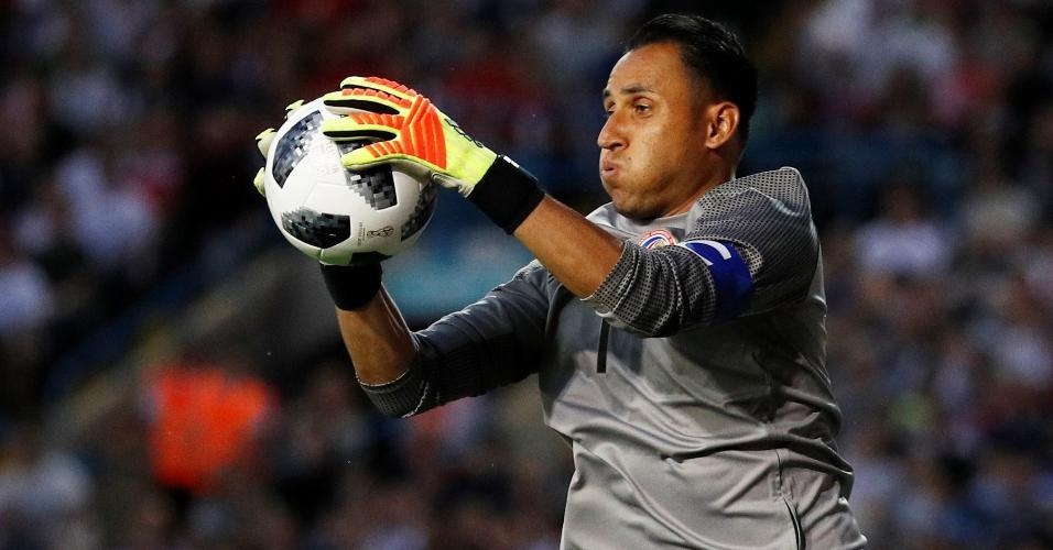 Keylor Navas, goleiro da Costa Rica