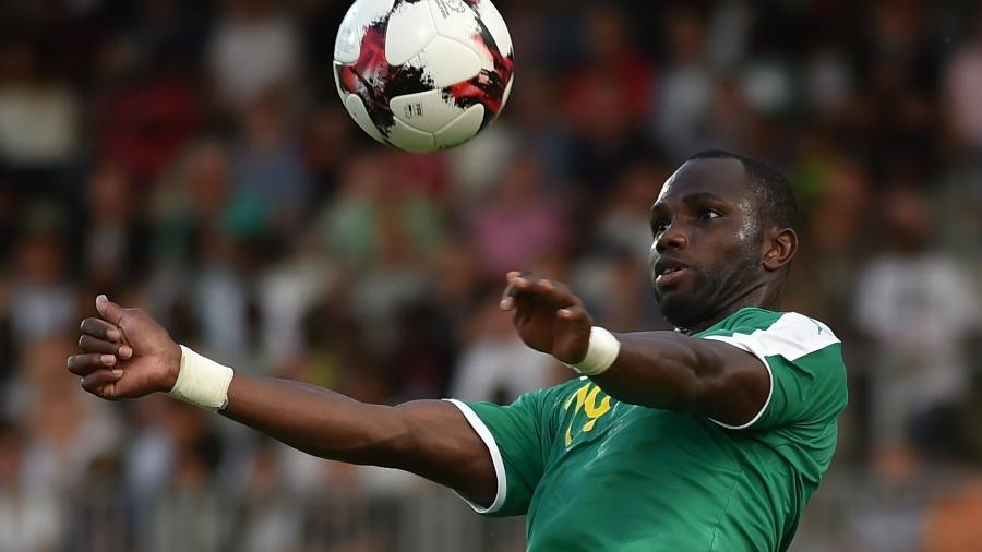 Moussa Konate marcou um dos gols de Senegal contra os sul-coreanos - Reuters