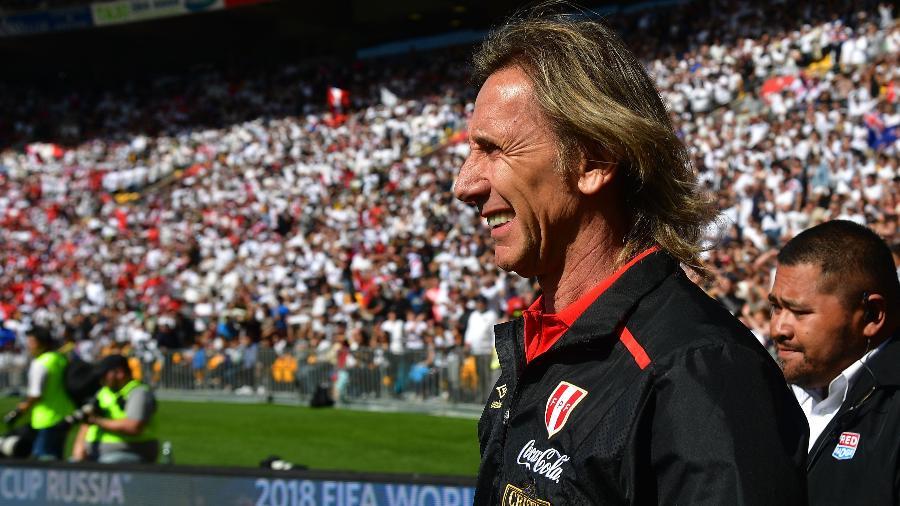 Ricardo Gareca ajudou a levar o Peru para a Copa - Marty Melville/AFP
