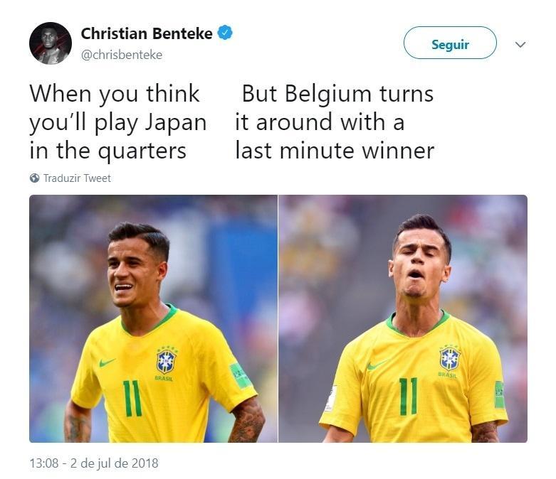Fora da Copa, Benteke provoca o Brasil, adversário da Bélgica nas quartas