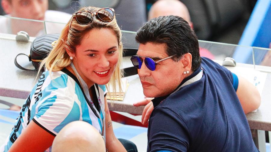 Diego Maradona desqualificou as decisões do presidente da Conmebol - ROBERT GHEMENT/EFE