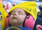 """Para quem torcer na Copa? Internautas decidem Suécia graças a """"bebê fofo"""" - Reprodução/TV Globo"""