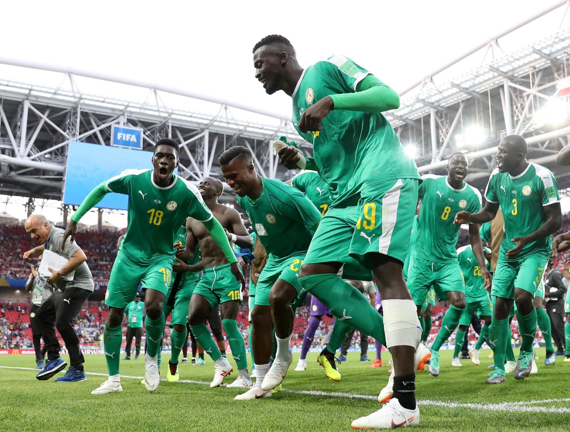 Senegal na Copa 2018  Inspirada em 2002 b28445178de91