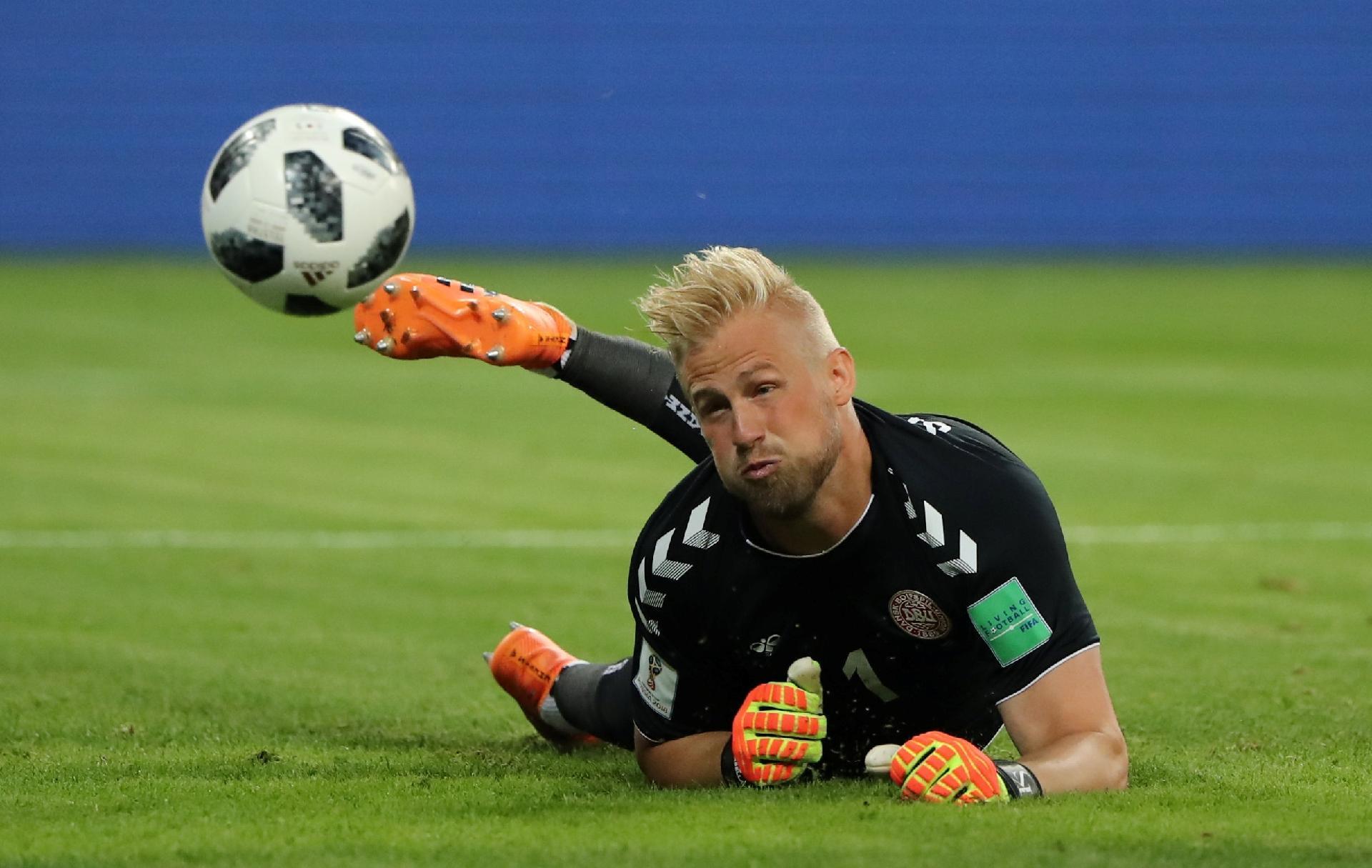 08b5ecbd14 Dinamarca na Copa 2018  Kasper Schmeichel
