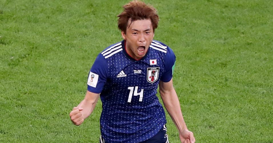 Inui Japão Senegal comemoração gol