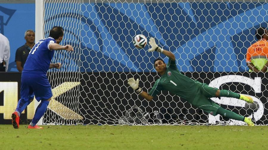 Navas foi um dos destaques da Costa Rica na Copa do Mundo de 2014 - Damir Sagolj/Reuters