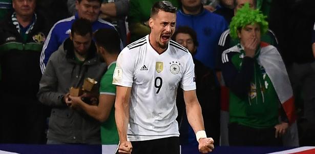 Sandro Wagner, que também defende a seleção, ainda acredita no título do Bayern - Charles McQuillan/Getty Images