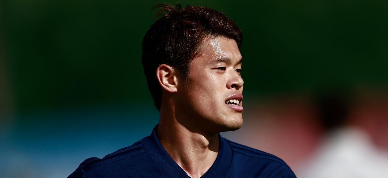 Hiroki Sakai, lateral-direito da seleção do Japão na Copa da Rússia, defendeu o Mogi Mirim em 2009 - Benjamin Cremel/AFP