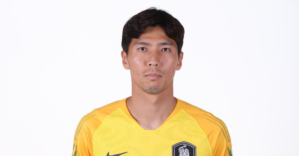 Kim Jinhyeon - goleiro da seleção sul-coreana