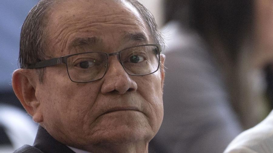Coronel Nunes durante tour de imprensa na Granja Comary em maio - Mauro Pimentel/AFP