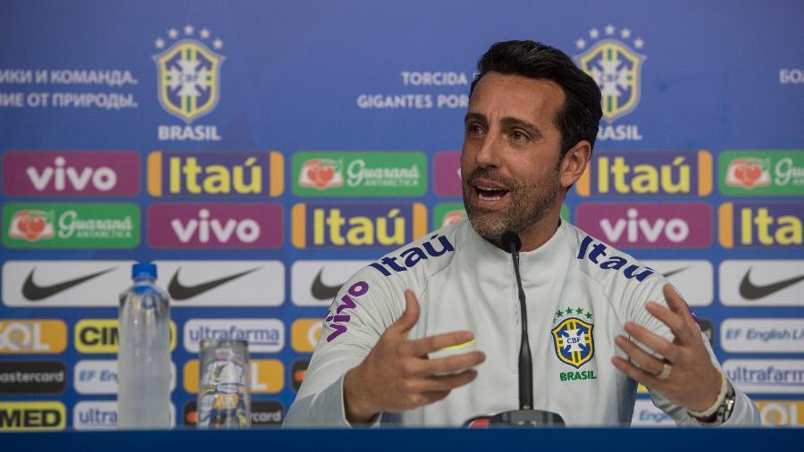 Edu Gaspar, coordenador de seleções da CBF, estará no jogo deste sábado - Pedro Martins / MoWA Press