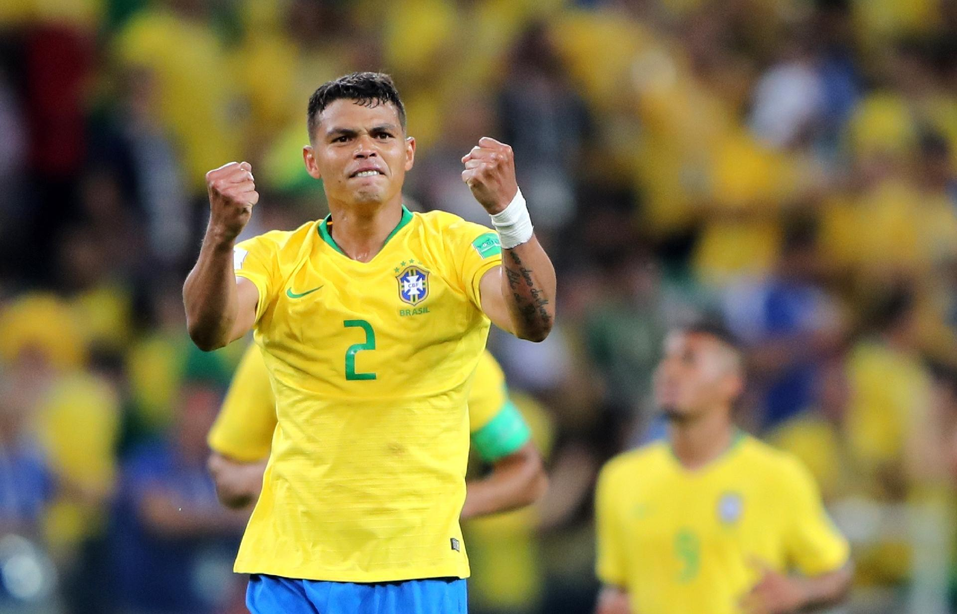 Seleção terá Thiago Silva como capitão nas oitavas de final d20f9b2807916