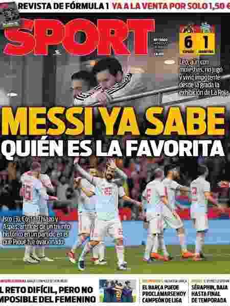 Reprodução/Sport