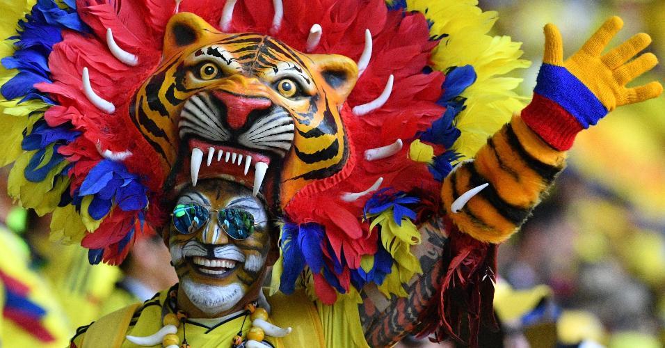 Leão Colômbia fantasia
