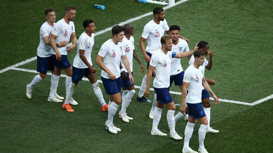Inglaterra venceu duas na Copa da Rússia e já se garantiu nas oitavas de final - Jan Kruger/Getty Images