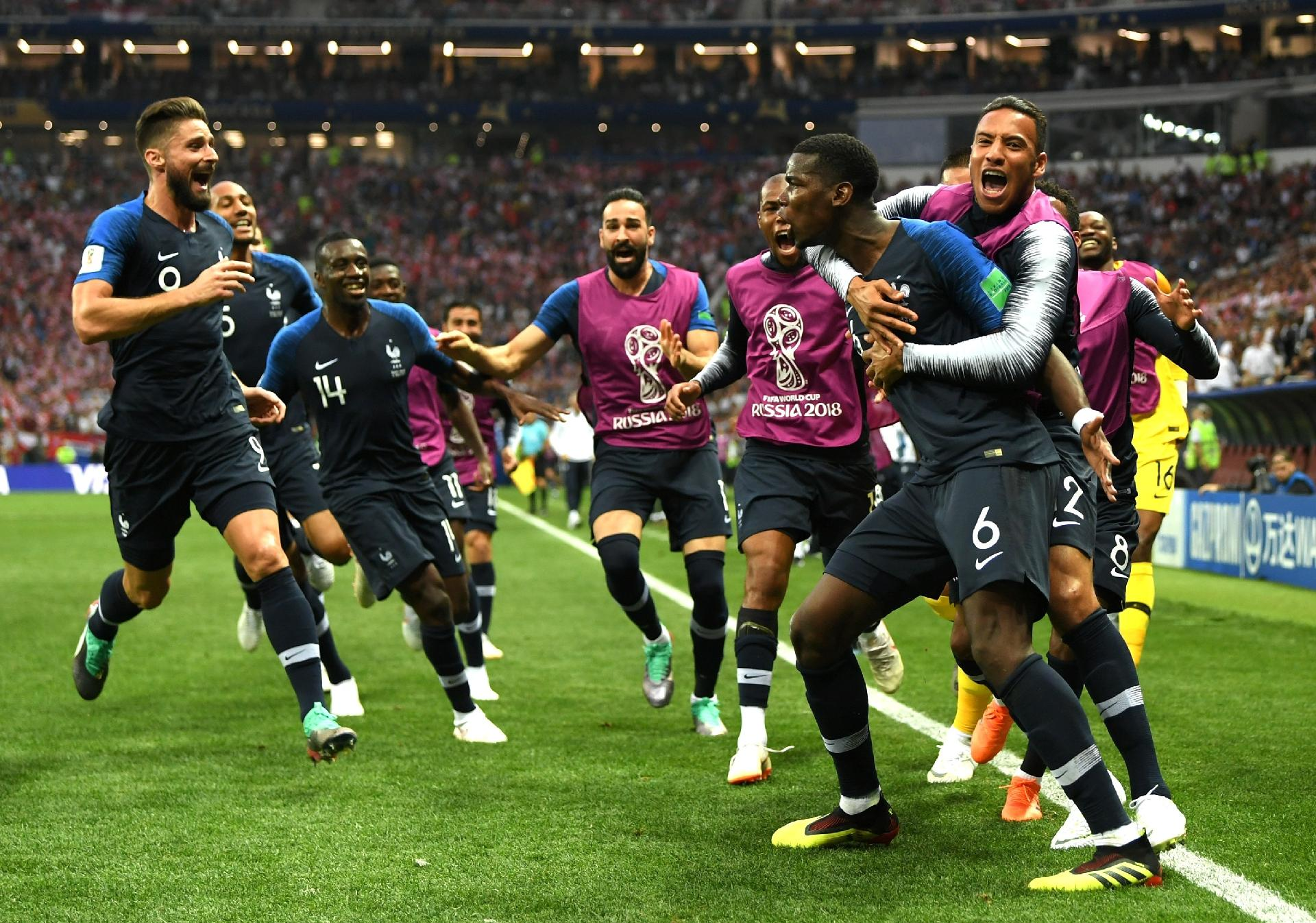 França na Copa 2018