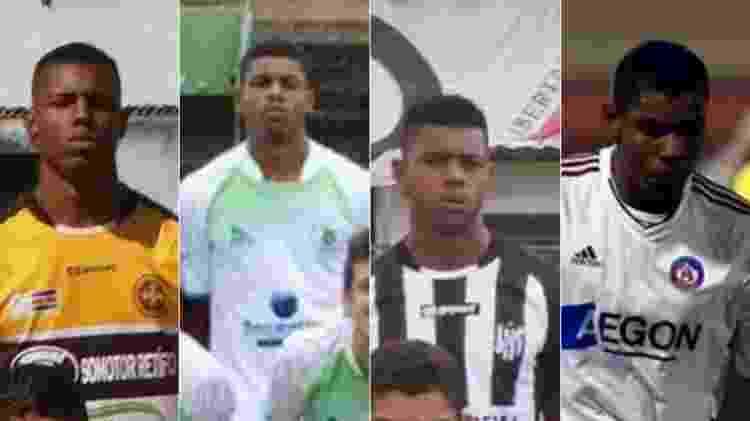 Wesley Moraes no futebol brasileiro - Montagem sobre Reprodução/Facebook - Montagem sobre Reprodução/Facebook