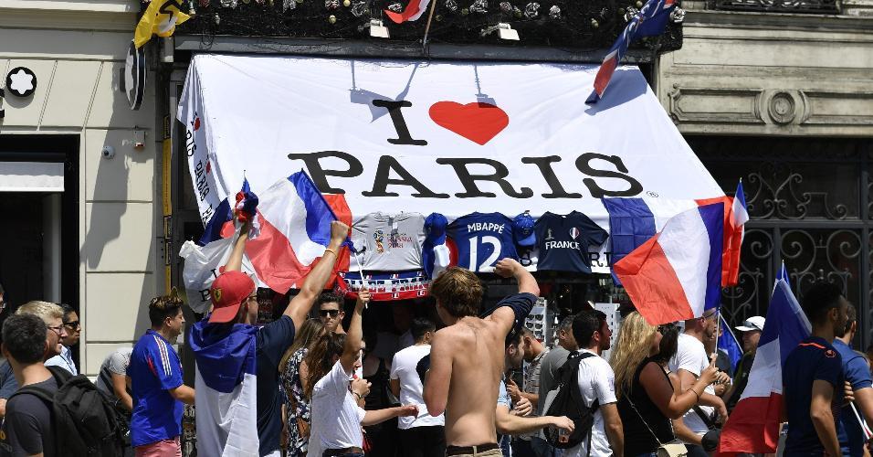 Paris foto França festa